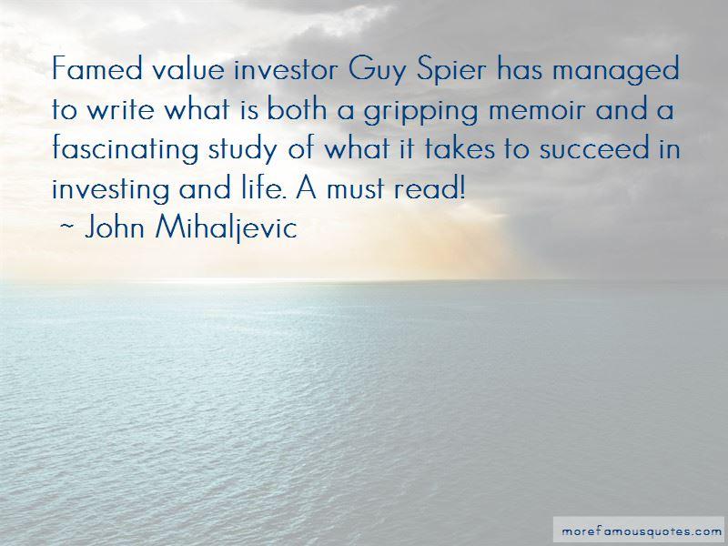 John Mihaljevic Quotes