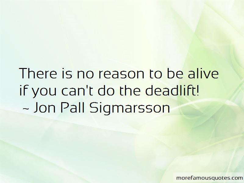 Jon Pall Sigmarsson Quotes Pictures 2