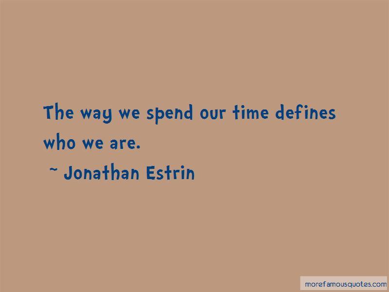Jonathan Estrin Quotes