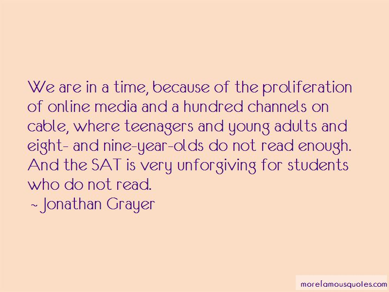 Jonathan Grayer Quotes Pictures 2