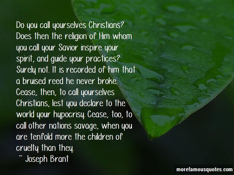 Joseph Brant Quotes Pictures 2