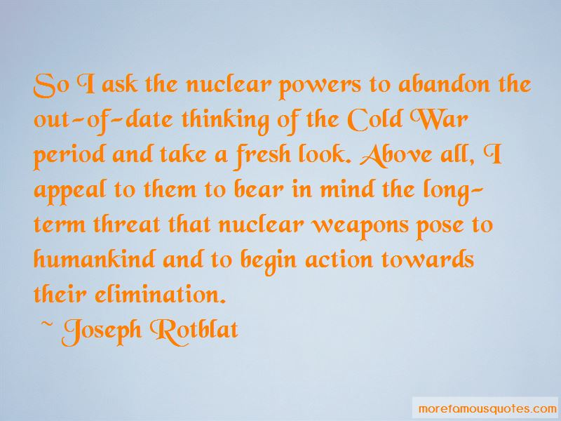 Joseph Rotblat Quotes Pictures 2