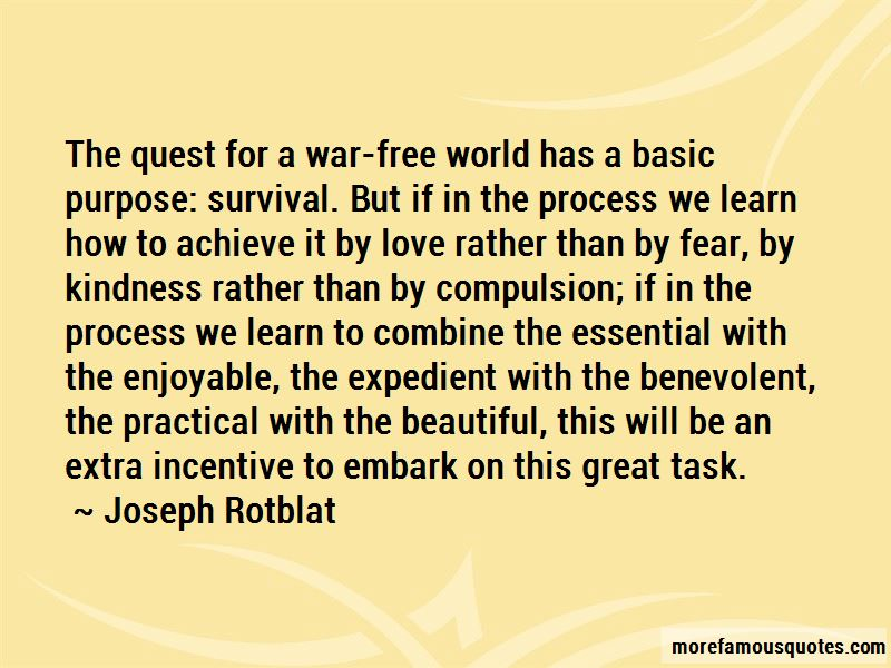 Joseph Rotblat Quotes Pictures 3