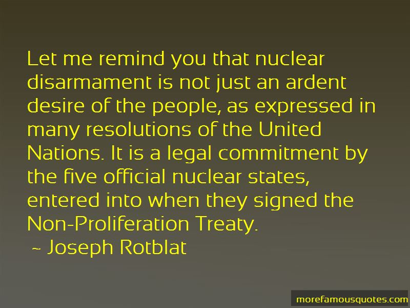 Joseph Rotblat Quotes Pictures 4