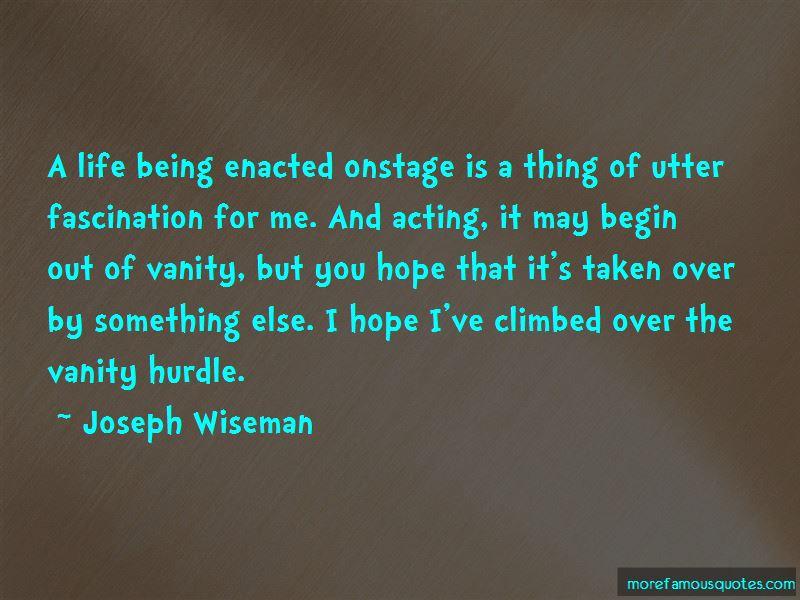 Joseph Wiseman Quotes