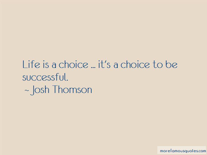 Josh Thomson Quotes Pictures 2