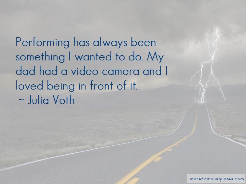 Julia Voth Quotes Pictures 4