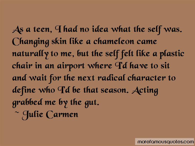 Julie Carmen Quotes Pictures 4