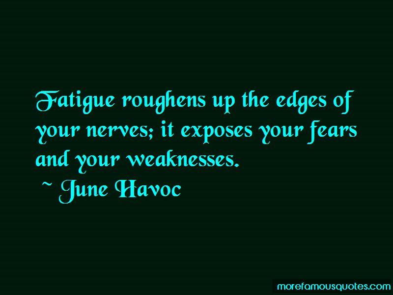 June Havoc Quotes Pictures 2