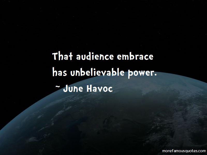June Havoc Quotes Pictures 4