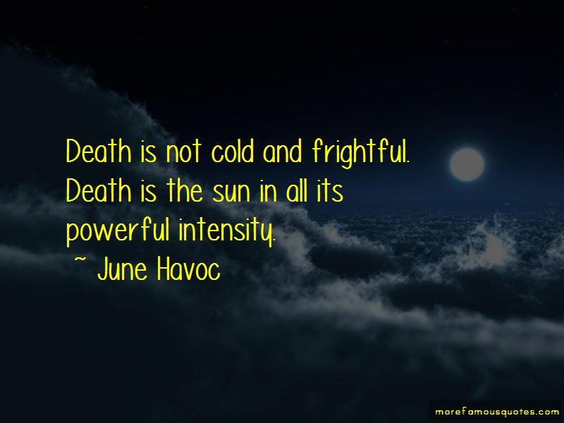 June Havoc Quotes