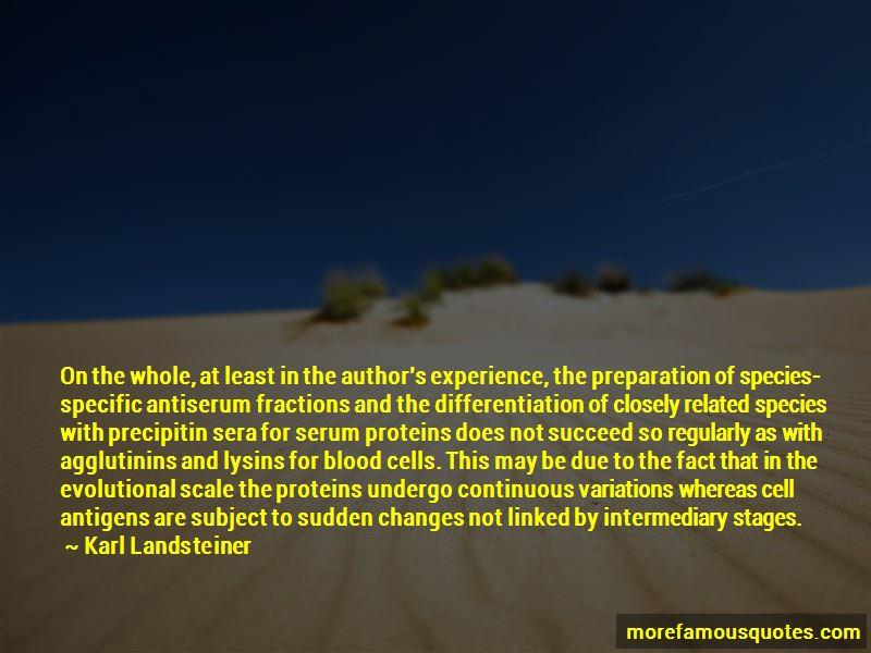 Karl Landsteiner Quotes