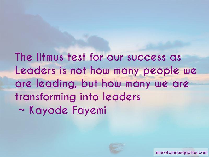 Kayode Fayemi Quotes