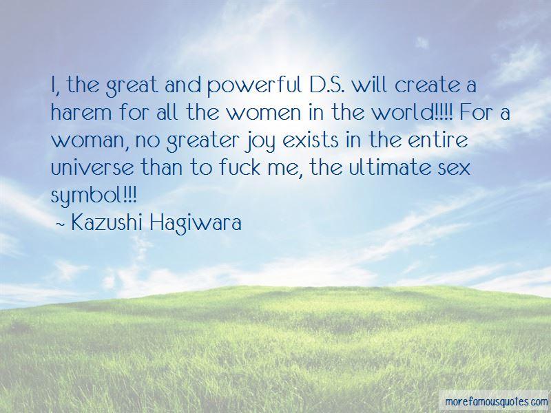 Kazushi Hagiwara Quotes