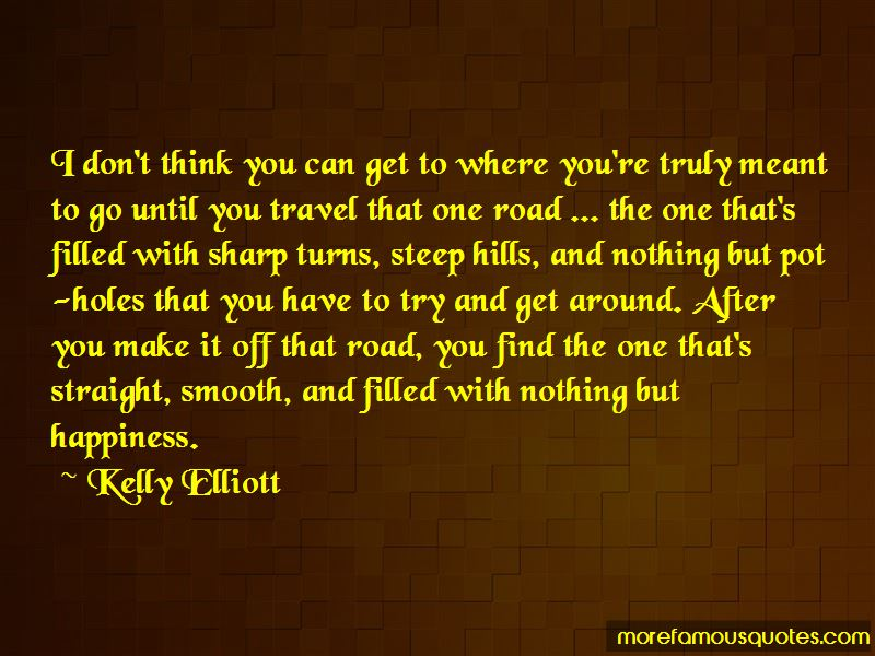 Kelly Elliott Quotes