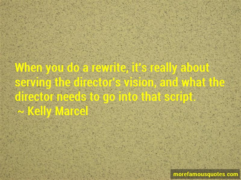 Kelly Marcel Quotes Pictures 2