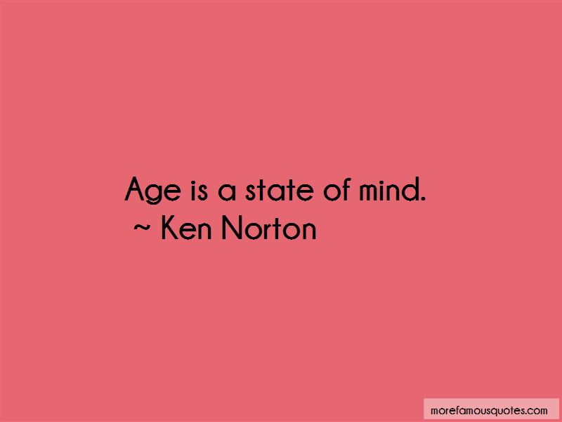 Ken Norton Quotes
