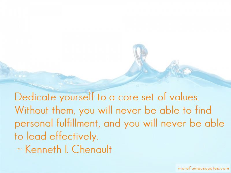 Kenneth I. Chenault Quotes Pictures 4