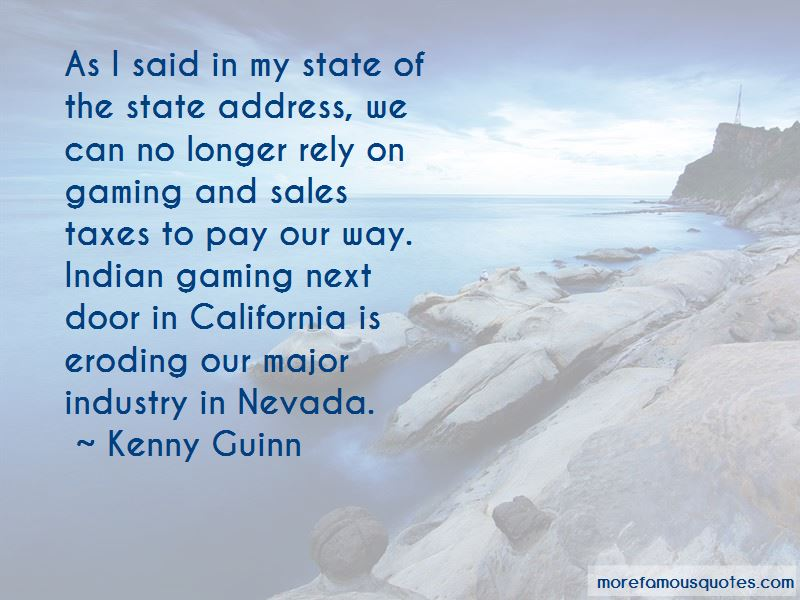Kenny Guinn Quotes