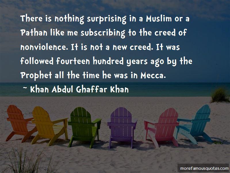 Khan Abdul Ghaffar Khan Quotes