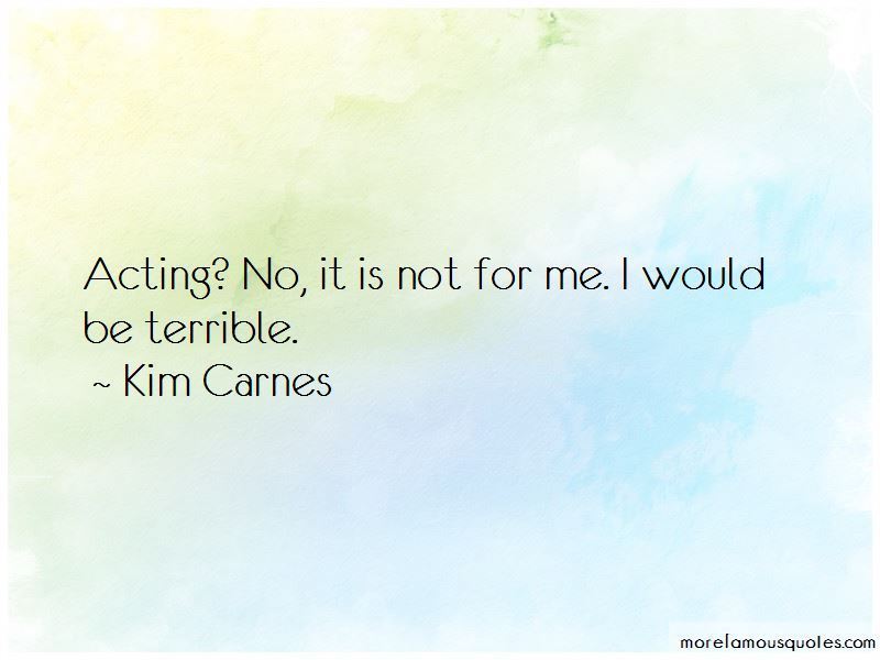 Kim Carnes Quotes Pictures 2