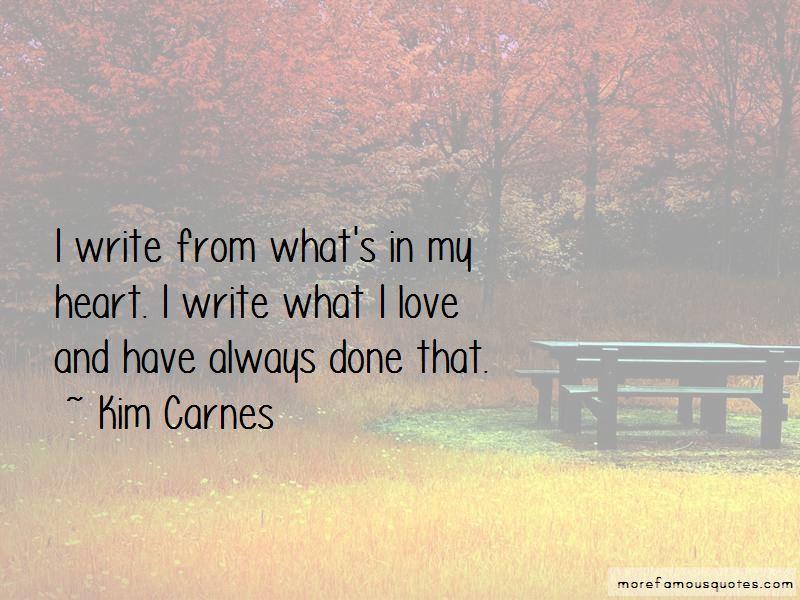 Kim Carnes Quotes Pictures 3