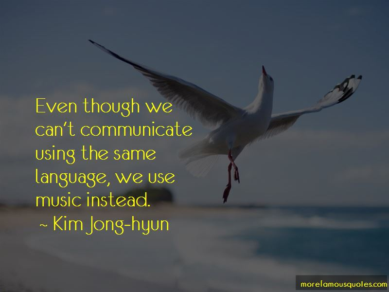 Kim Jong-hyun Quotes Pictures 2