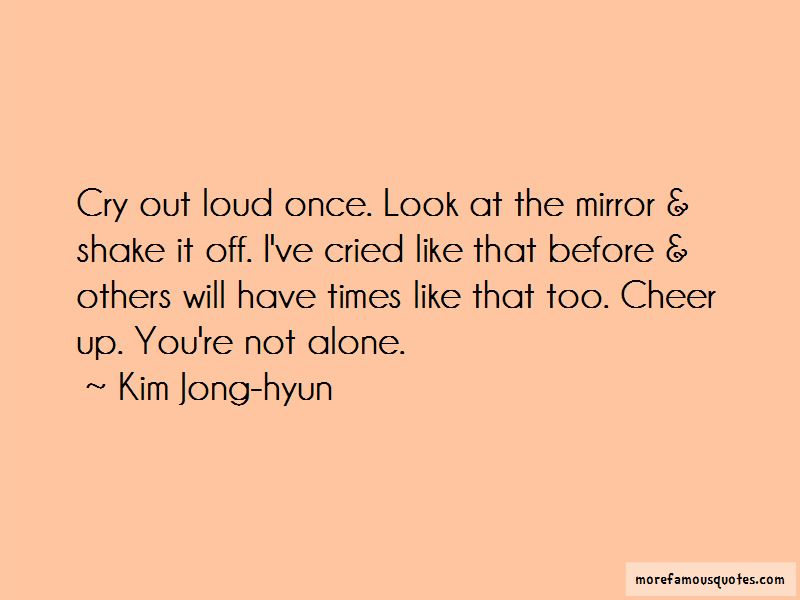 Kim Jong-hyun Quotes Pictures 3