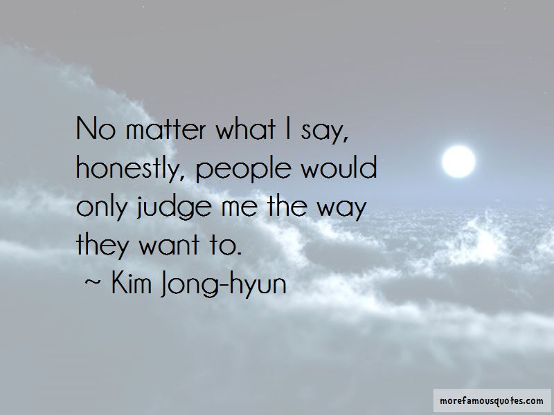 Kim Jong-hyun Quotes