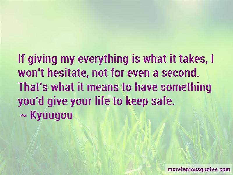 Kyuugou Quotes Pictures 3