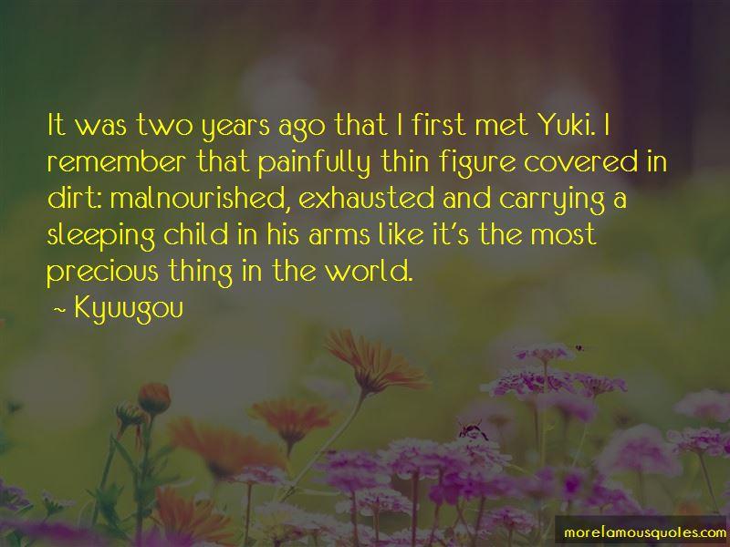 Kyuugou Quotes