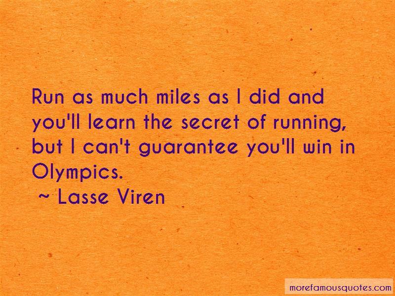 Lasse Viren Quotes Pictures 2