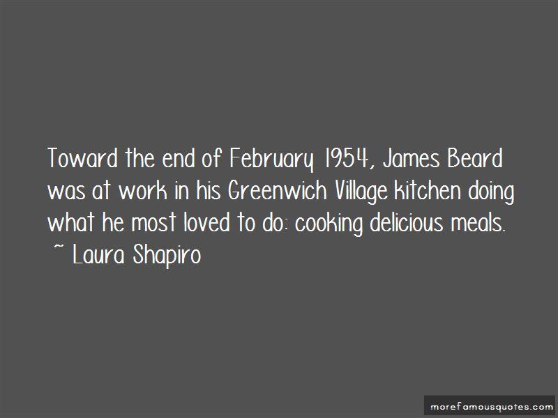 Laura Shapiro Quotes