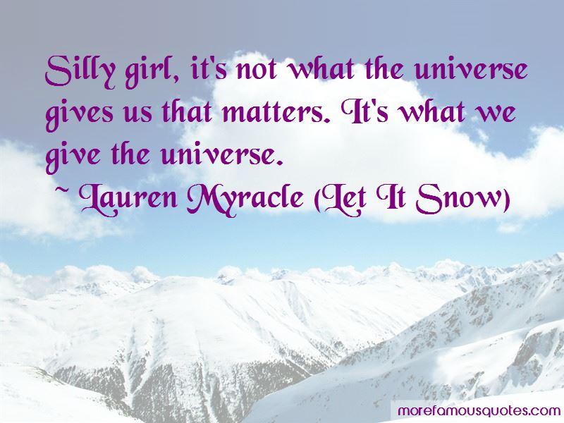 Lauren Myracle (Let It Snow) Quotes Pictures 2