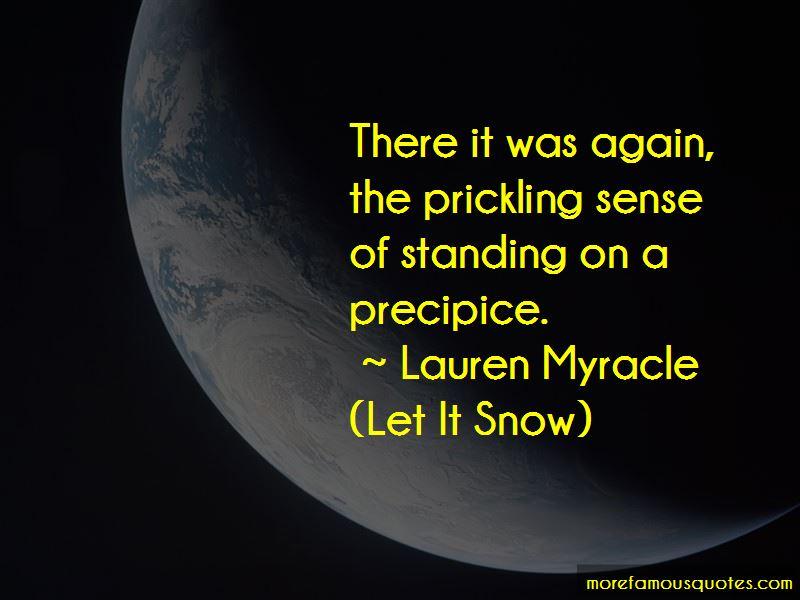 Lauren Myracle (Let It Snow) Quotes Pictures 3