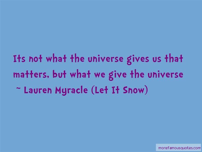 Lauren Myracle (Let It Snow) Quotes Pictures 4