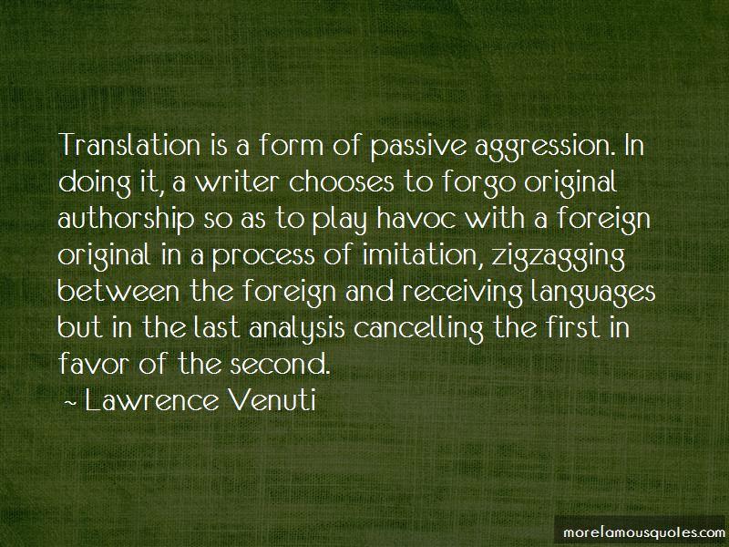 Lawrence Venuti Quotes