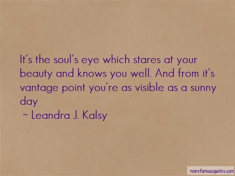 Leandra J. Kalsy Quotes