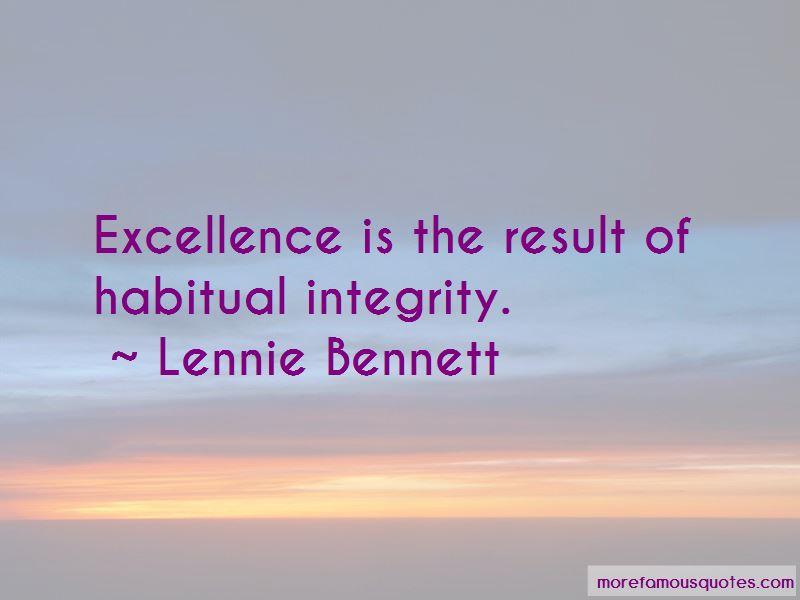 Lennie Bennett Quotes
