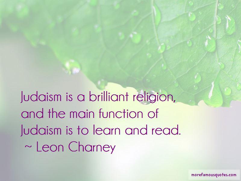 Leon Charney Quotes