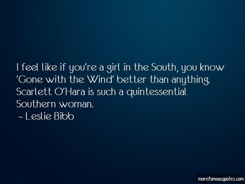 Leslie Bibb Quotes