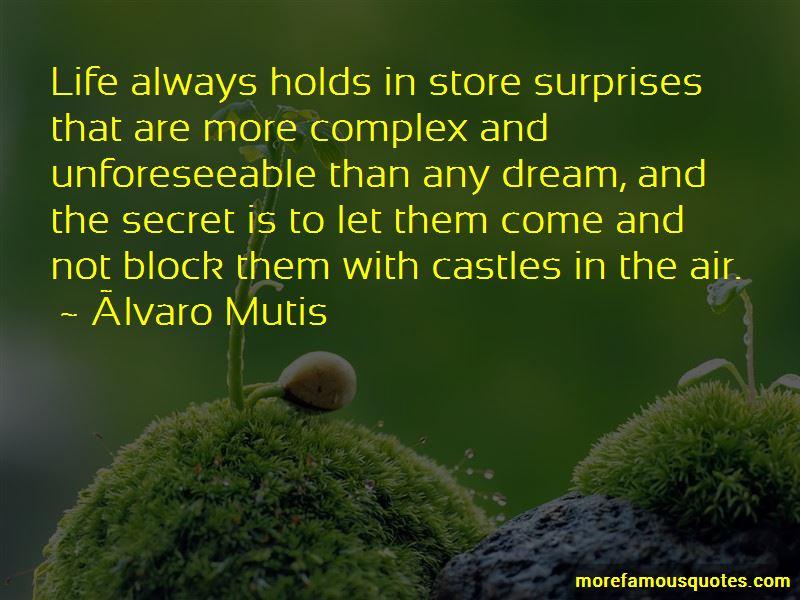 Álvaro Mutis Quotes