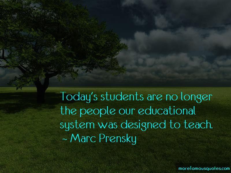 Marc Prensky Quotes