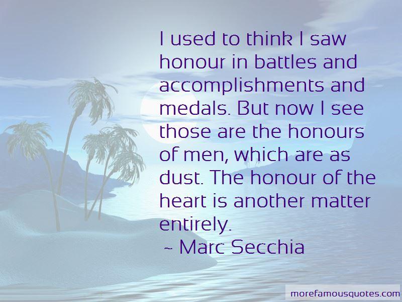 Marc Secchia Quotes