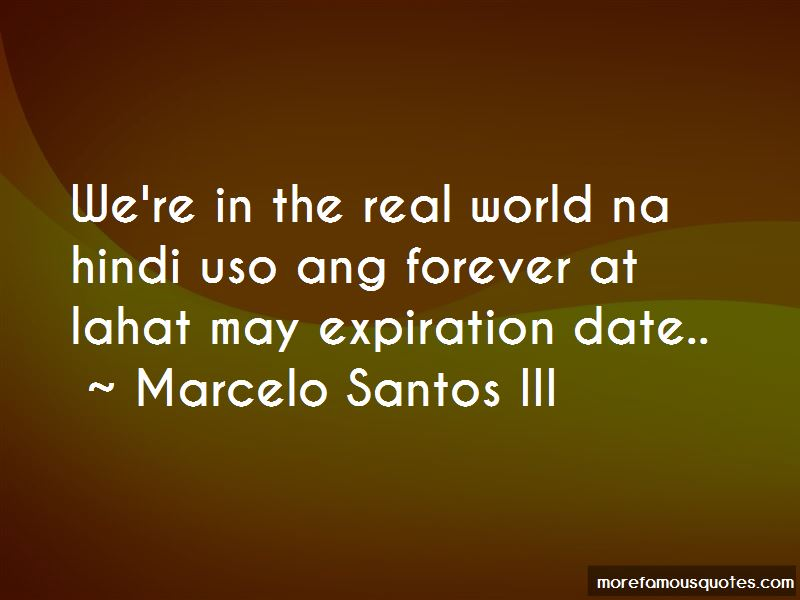Marcelo Santos III Quotes Pictures 2