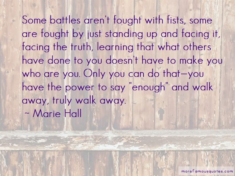 Marie Hall Quotes Pictures 4