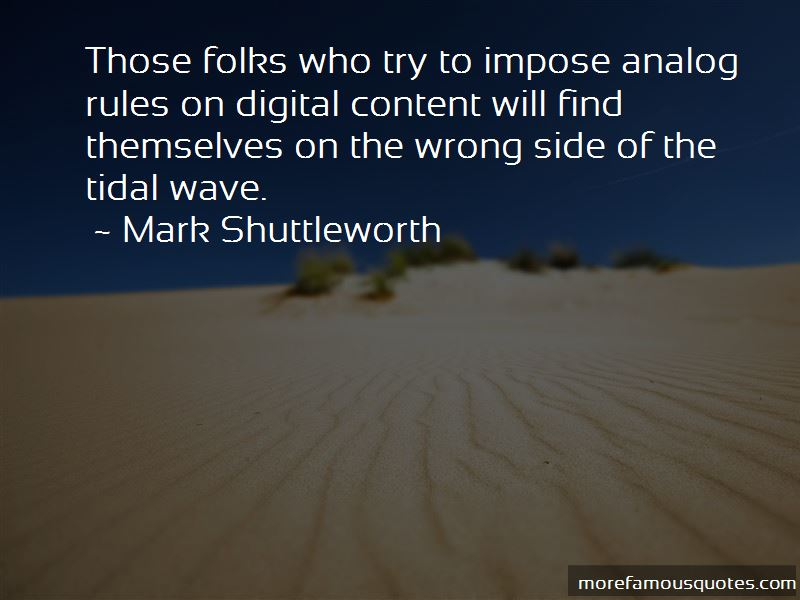 Mark Shuttleworth Quotes Pictures 2
