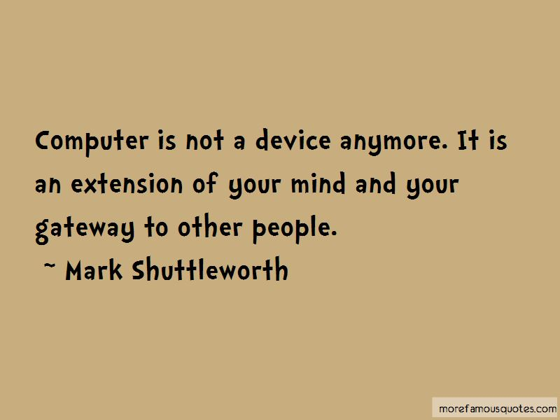Mark Shuttleworth Quotes Pictures 4