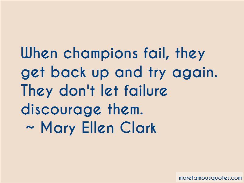 Mary Ellen Clark Quotes