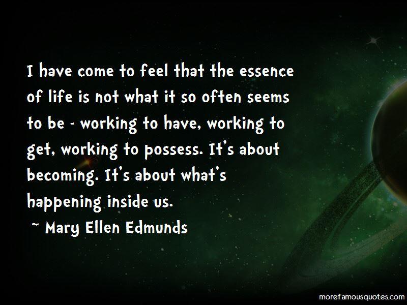 Mary Ellen Edmunds Quotes Pictures 2